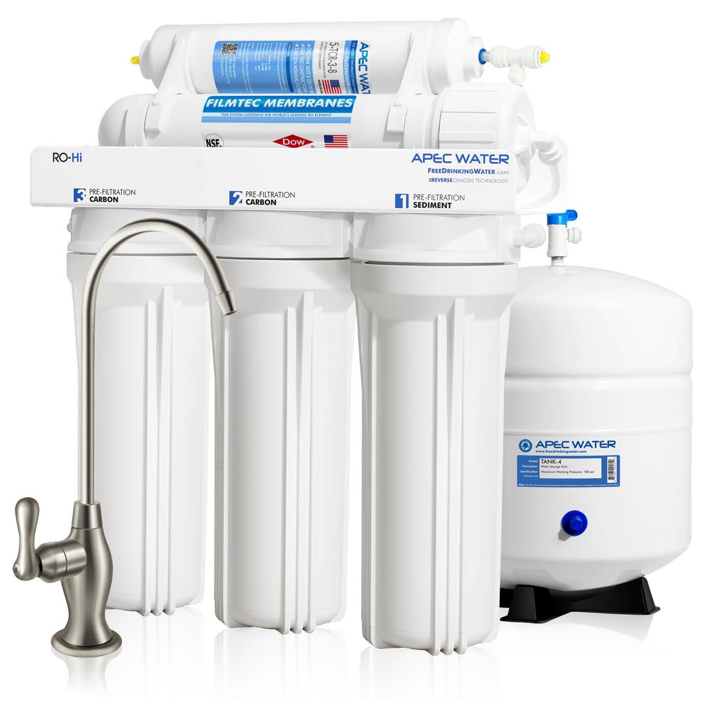 Ultimate Premium Quality Fast Flow 90 GPD Under-Sink Reverse Osmosis Drinking