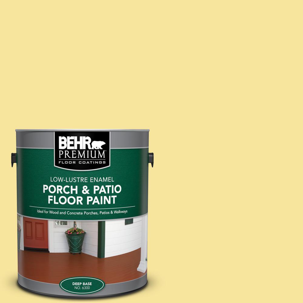 Behr Premium 1 Gal P310 4 Storm Lightning Low Lustre Enamel Interior Exterior Porch And Patio Floor Paint 630001 The Home Depot