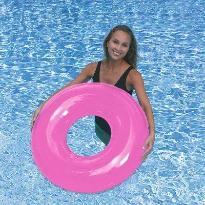 Pink 36 in. Pool Tube