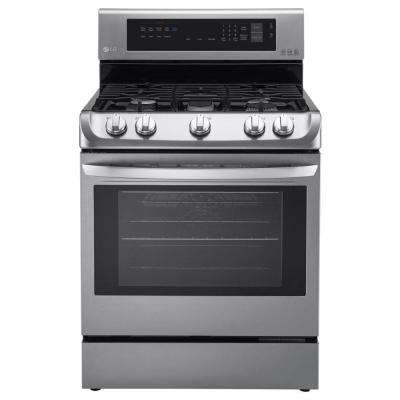 6.3 cu. ft. Gas Range with ProBake Convection Oven in Stainless Steel