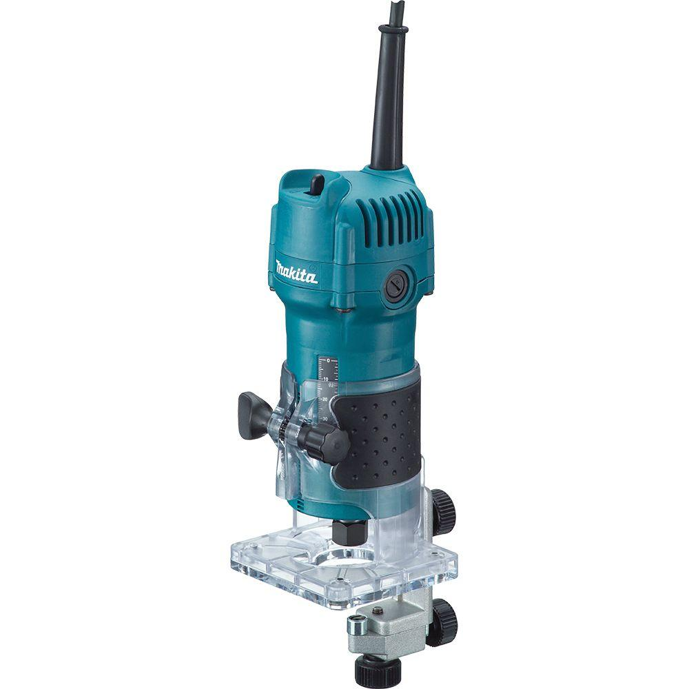 Makita 4 Amp 1/4 in. Fixed Base Laminate Trimmer
