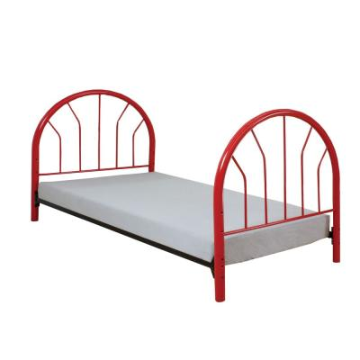 Amelia Red 39 in. L x 2.5 in. W x 42 in. H Twin Footboard Only