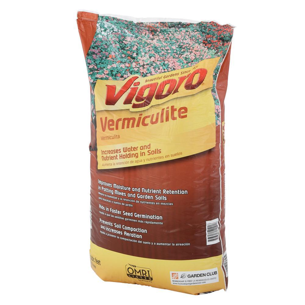 2 cu. ft. Organic Vermiculite Soil Amendment