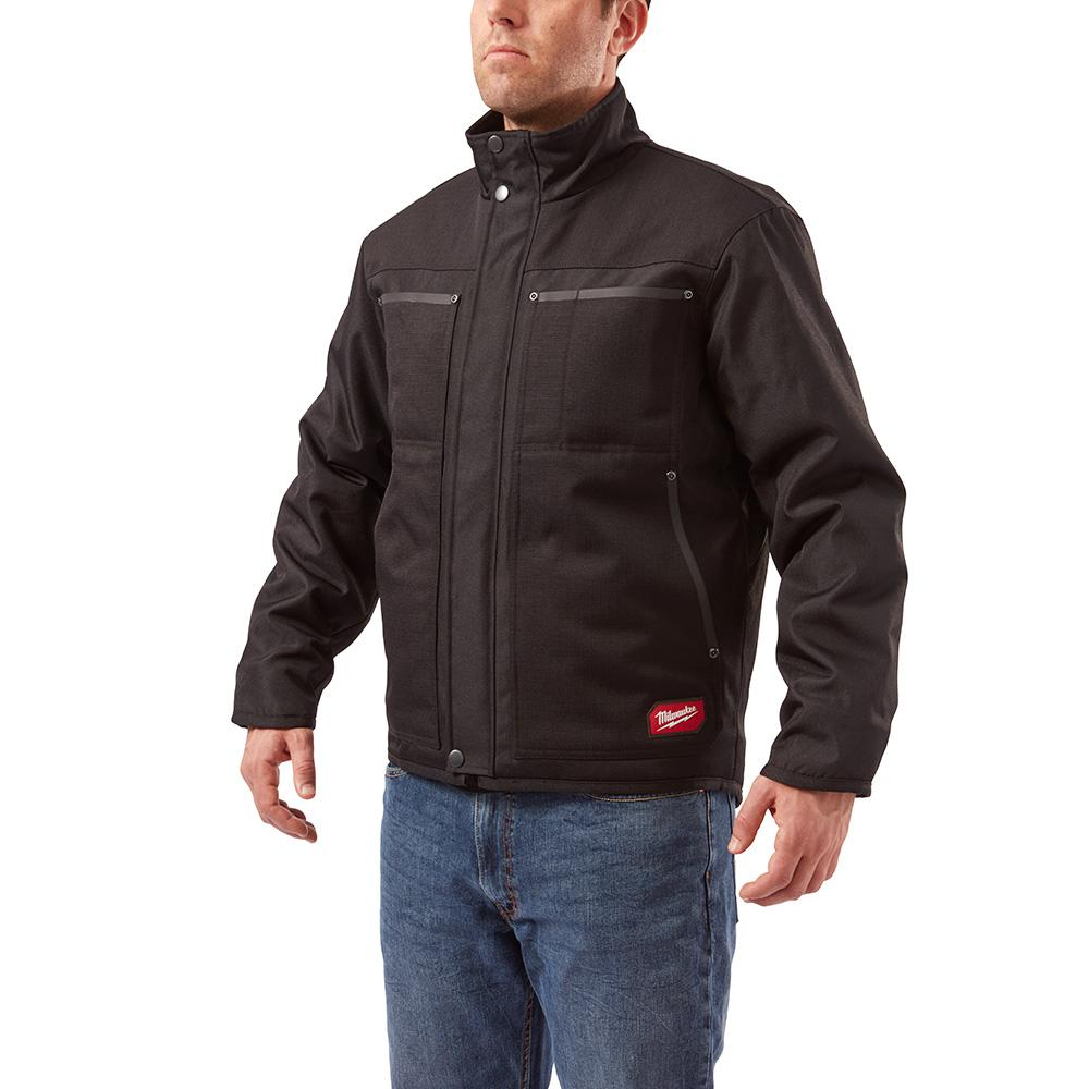 Milwaukee Men's Large Black GRIDIRON Traditional Jacket