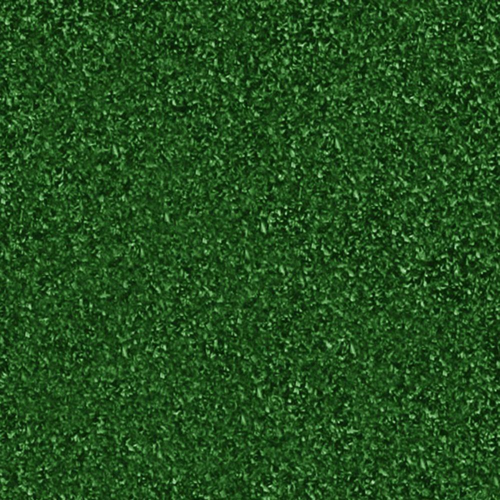 TrafficMASTER Carpet Sample - Mainstream - Color Ivy Artificial Grass 8 in. x 8 in.