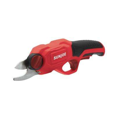 3.6-Volt 2.0 Amp Electric Cordless Pruner in Red