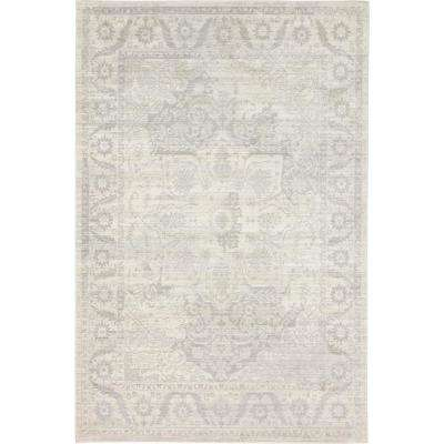 Aria Beige 5 ft. x 8 ft. Area Rug
