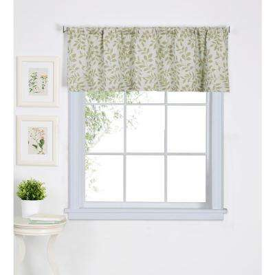 Serene Kitchen Tier Window Valance