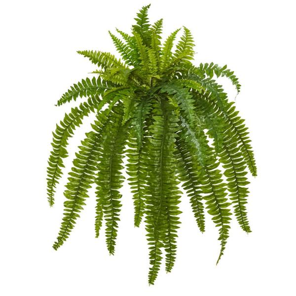 Nearly Natural Indoor 35 Boston Fern Artificial Plant Set Of 2