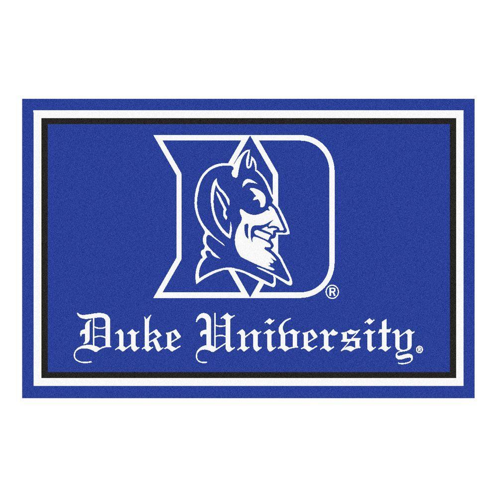 Fanmats Duke University 4 Ft X 6 Ft Area Rug 6280 The