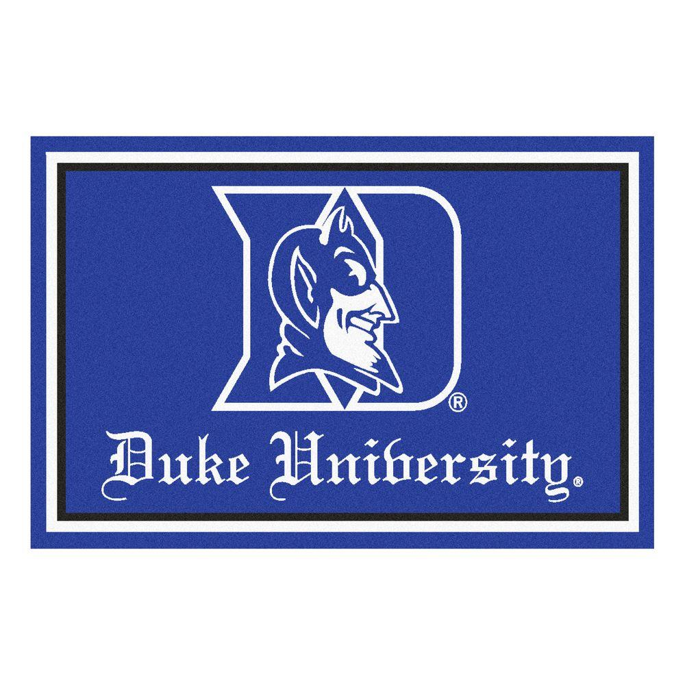 Fanmats Duke University 4 Ft X 6 Ft Area Rug 6280 The