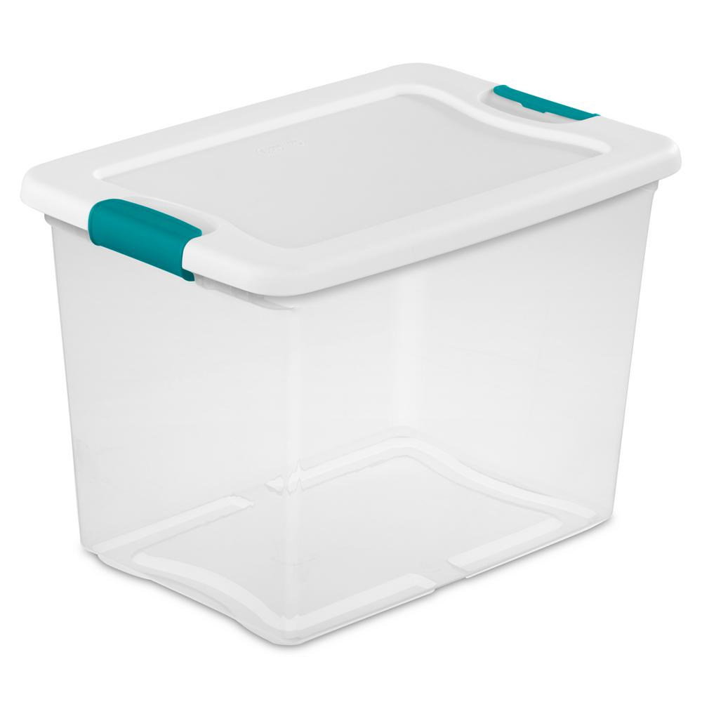 Sterilite 25 Qt. Latching Storage Box