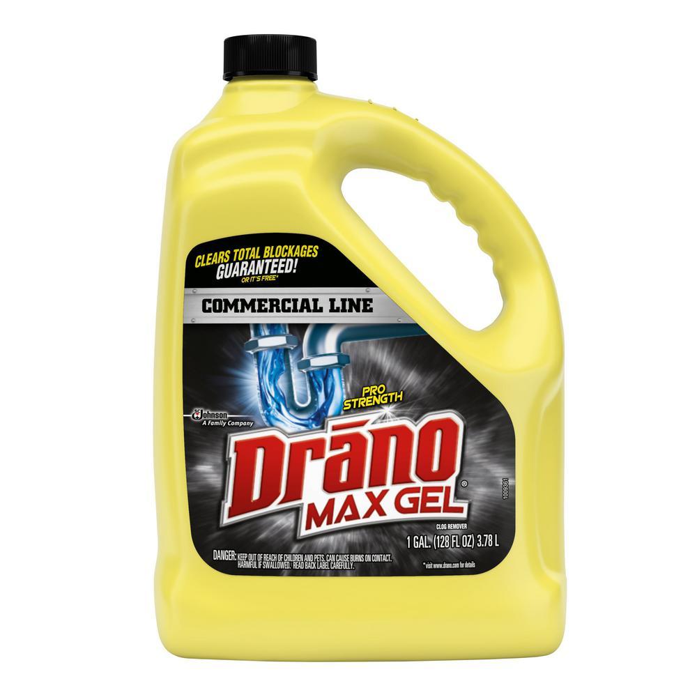 Drano Didn T Work Bathroom Sink: Drano 1 Gal. Max Gel Clog Remover-024109