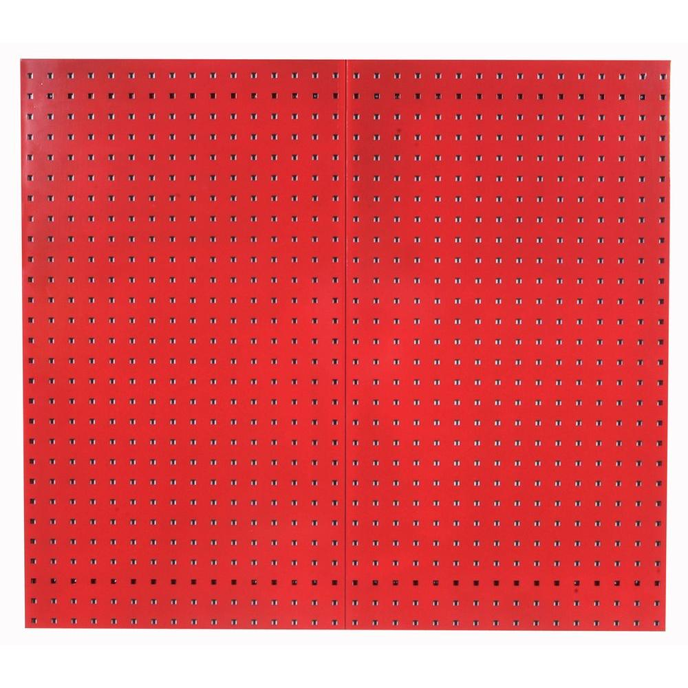Triton Heavy Duty 1 4 In X 1 8 In Pegboard Wall