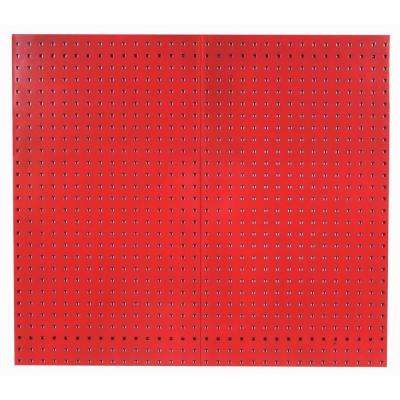 3/8 in. Red Pegboard Wall Organizer