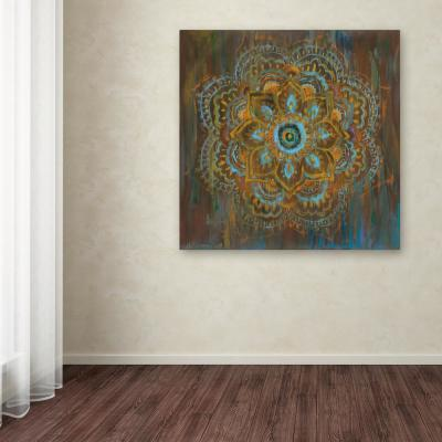 """35 in. x 35 in. """"Bombay Bohemian"""" by Danhui Nai Printed Canvas Wall Art"""