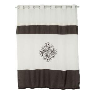 Current Item Floret 72 In Ecru Shower Curtain