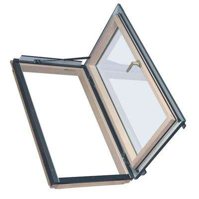 Egress Window 22-1/2 in. x 37-1/2 in. Venting Roof Access Skylight with Tempered Glass, LowE
