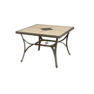 Pembrey 40 in. Square Patio Dining Table