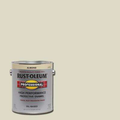 1 gal. High Performance Protective Enamel Gloss Almond Oil-Based Interior/Exterior Paint (2-Pack)