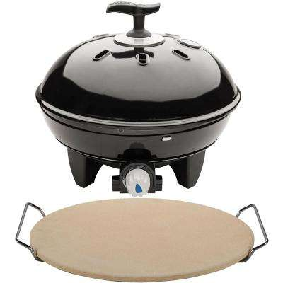 Citi Chef 40 Portable Tabletop Propane Gas Grill in Black