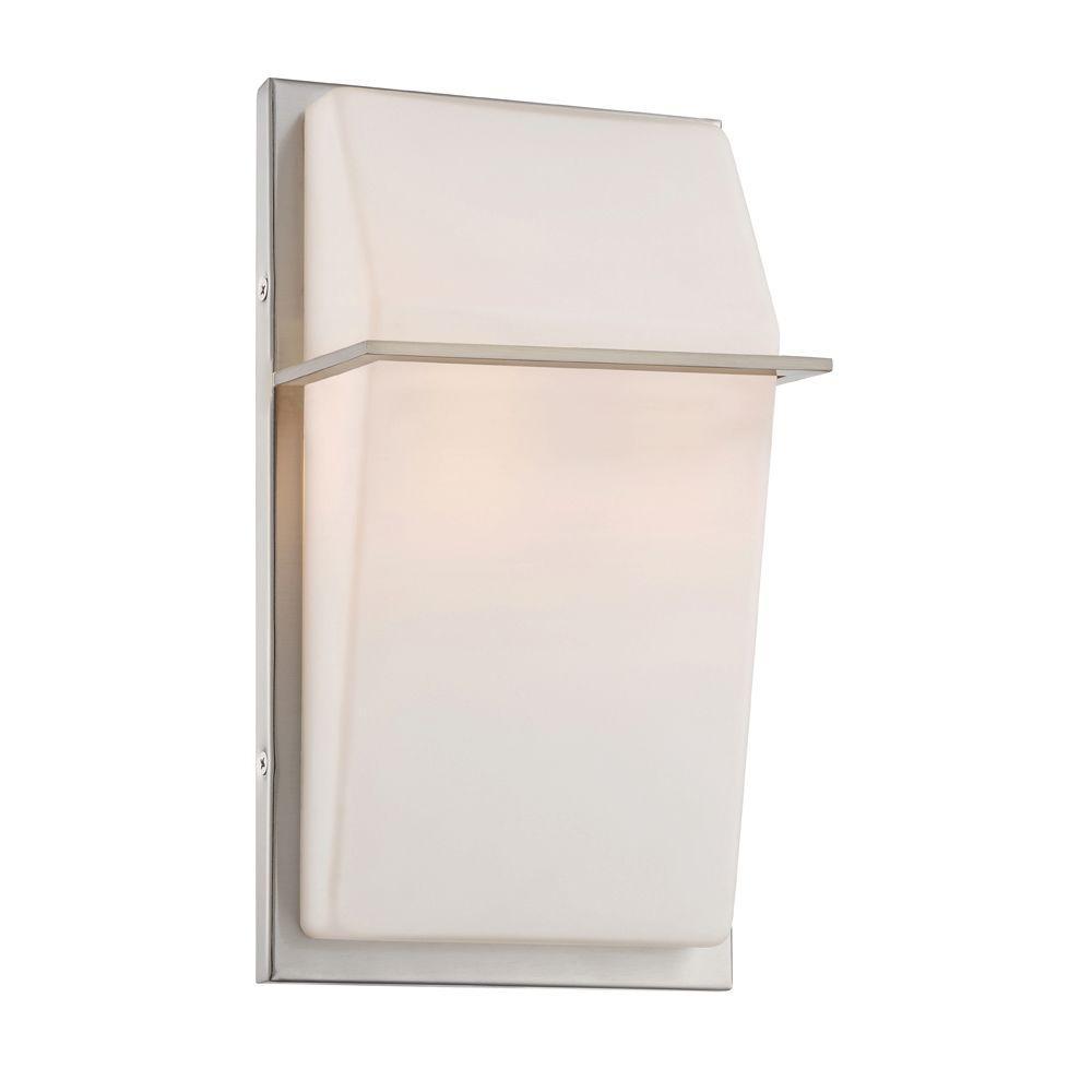Maddox 2-Light Satin Platinum Interior Wall Sconce