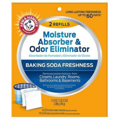 14 oz. Moisture Absorber and Odor Eliminator Refill (2-Pack)