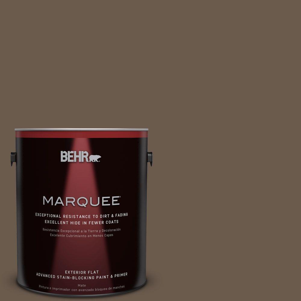 1-gal. #PPU5-2 Aging Barrel Flat Exterior Paint