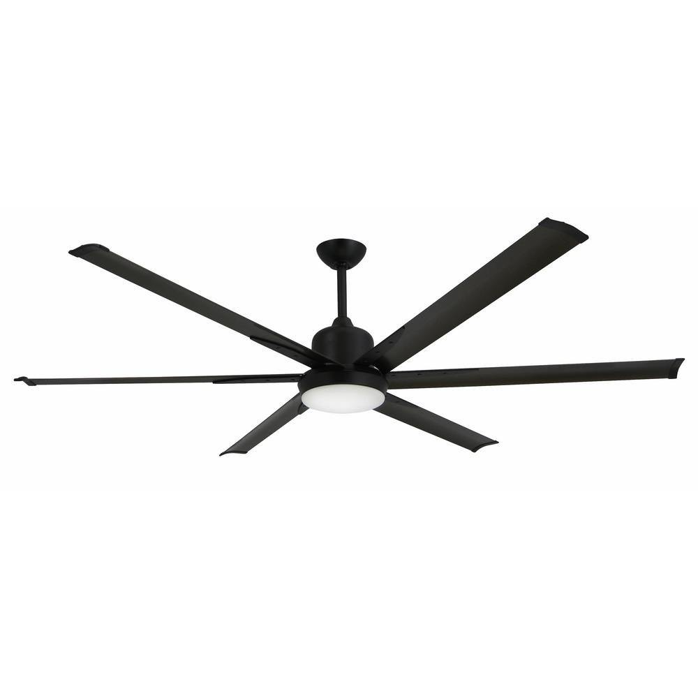 TroposAir Titan 72 in. Indoor/Outdoor Oil-Rubbed Bronze Ceiling Fan and Light