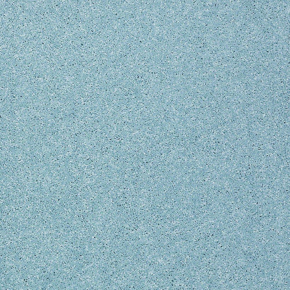 Carpet Sample - Joyful Whimsey - In Color Ocean Spray 8 in. x 8 in.