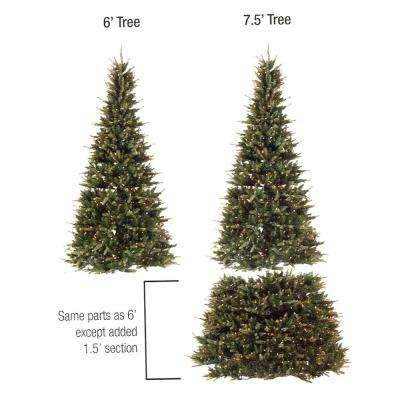 Bethlehem Lighting Pre-Lit Hunter Fir Christmas Tree w//300 Clear Mini Lights 4.5Ft