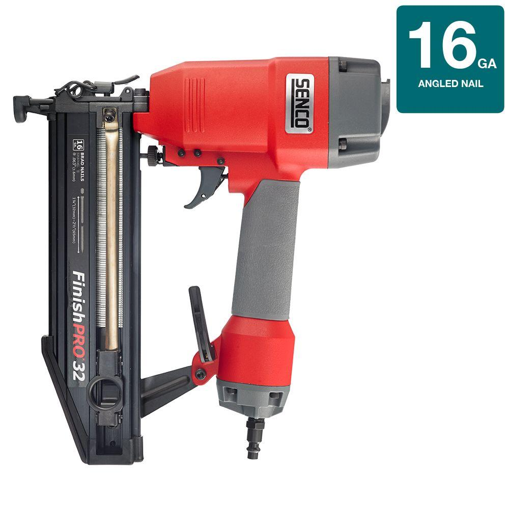 Senco FinishPro 32-2 1/2 in. 16-Gauge Nailer-1X0201N - The ...