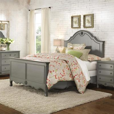 Keys Grey King Bed