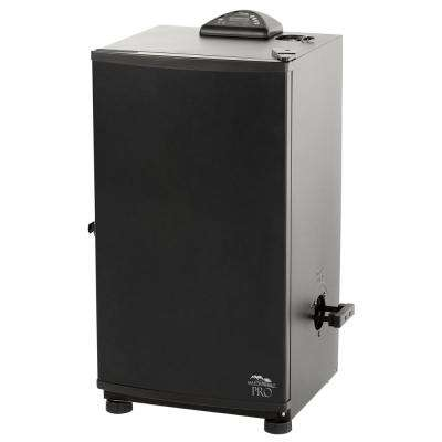 30 in. Black Electric Digital Smoker