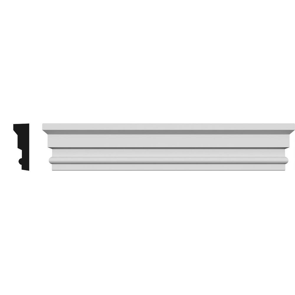 1 in. x 75 in. x 5-1/2 in. Polyurethane Panel Crosshead