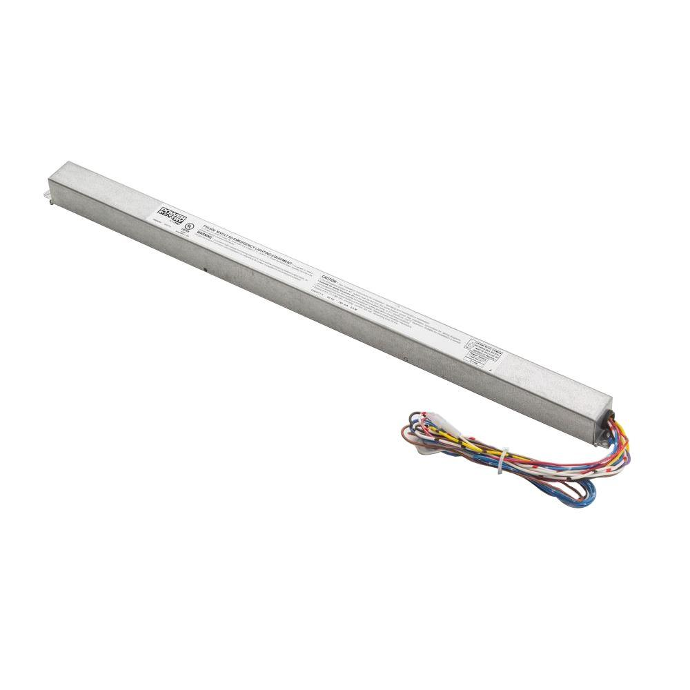 Replacement Ballasts Ceiling Lighting Accessories The Home Depot Tube T5 Light On Fluorescent Fixtures Circuit Diagram Low Profile Emergency Ballast For And T8 Lamps
