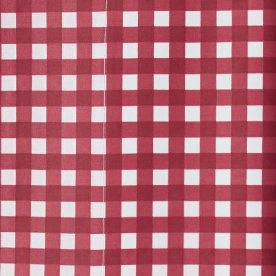 Gingham 200-Thread Count Cotton Percale Duvet Cover