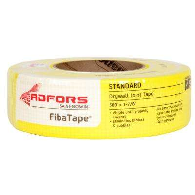 FibaTape Standard Yellow 1-7/8 in. x 500 ft. Self-Adhesive Mesh Drywall Joint Tape