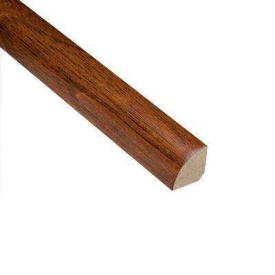 Manchurian Walnut 3/4 in. Thick x 3/4 in. Wide x 94 in. Length Hardwood Quarter Round Molding