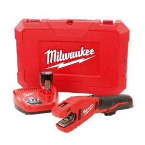 Milwaukee M12 12-Volt Lithium-Ion Cordless Copper Tubing Cutter Kit W/ (1) 1.5Ah... by Milwaukee