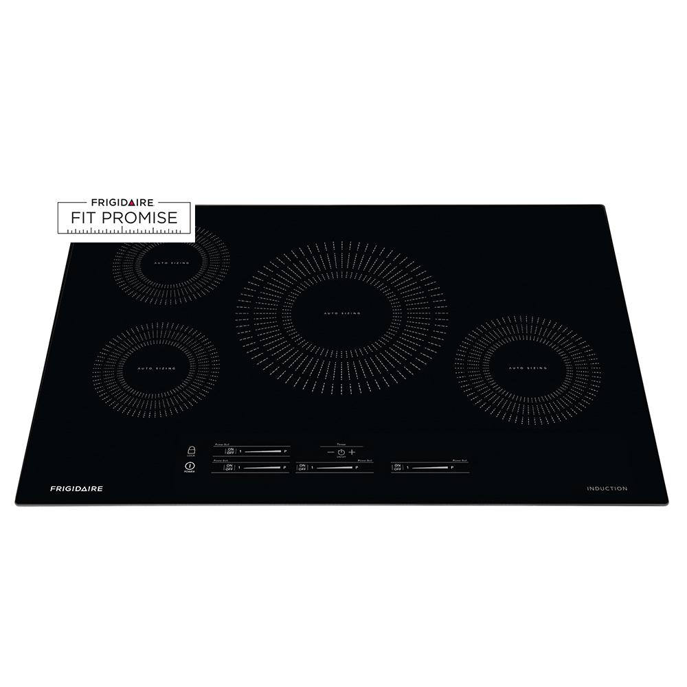 Frigidaire 30 in. Induction Cooktop in Black with 4 Elements