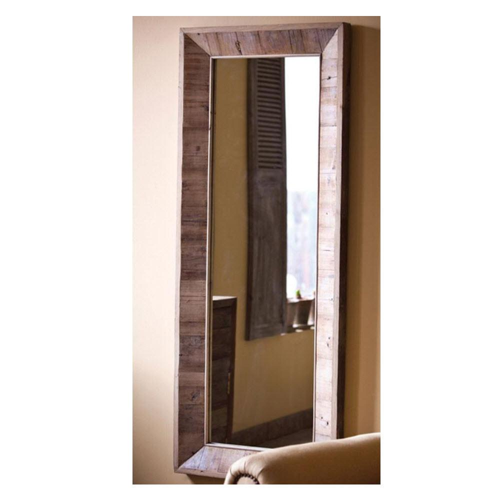 Home Decorators Collection 60 In H X 24 In W Avalon Natural Mirror 0881820810 The Home Depot