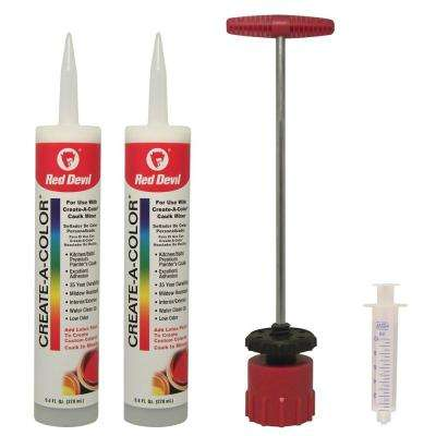 9.4 oz. Create a Color Caulk Kit (2-Tubes)