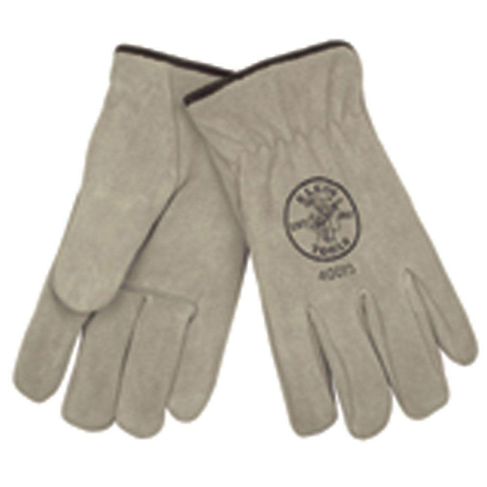 null Lined Cowhide Extra Large Drivers Gloves (1 Pair)
