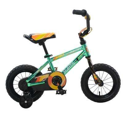 Growl Green Ready2Roll 12 in. Kids Bicycle