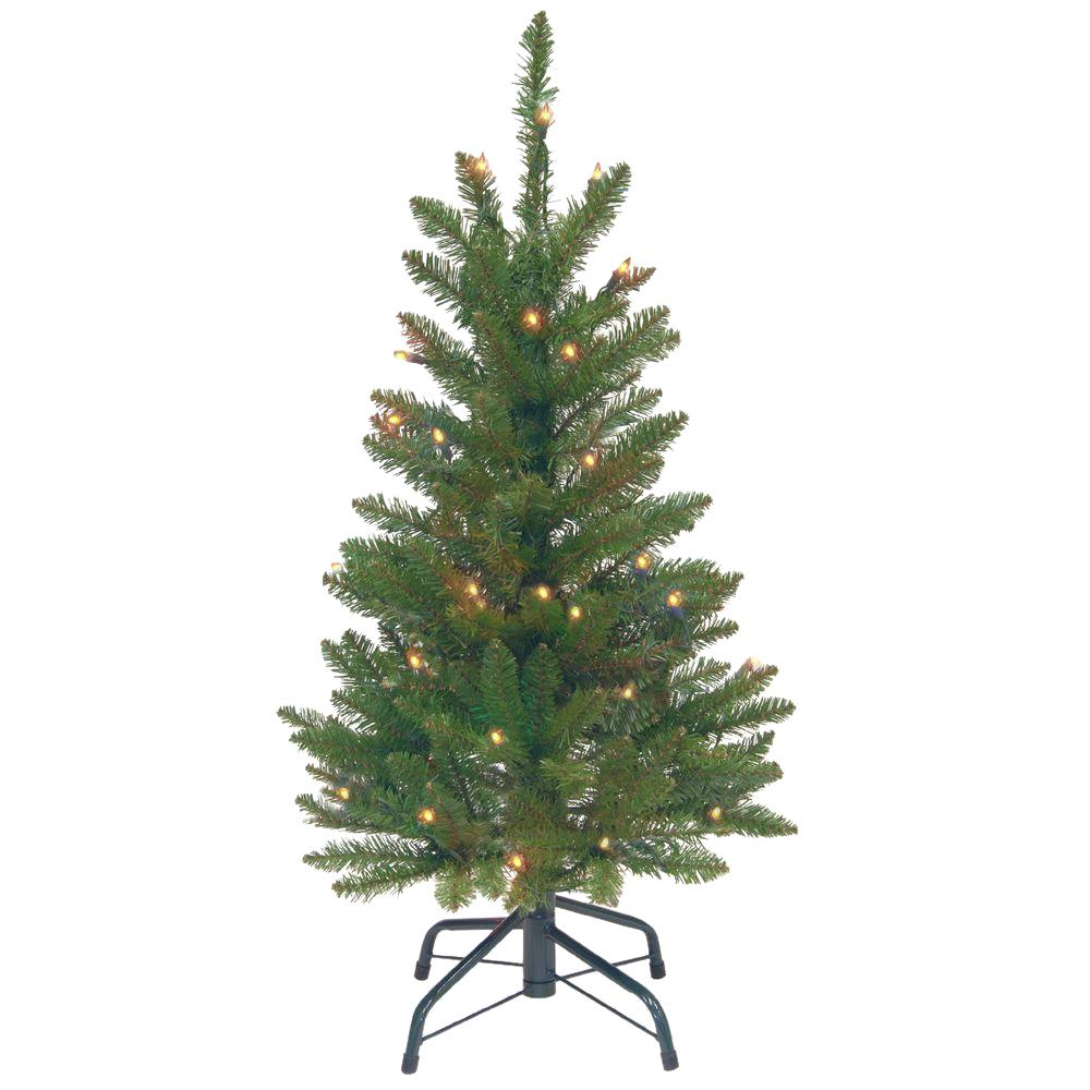 National Tree Company 3 ft. Kingswood Fir Wrapped Pencil Artificial ...