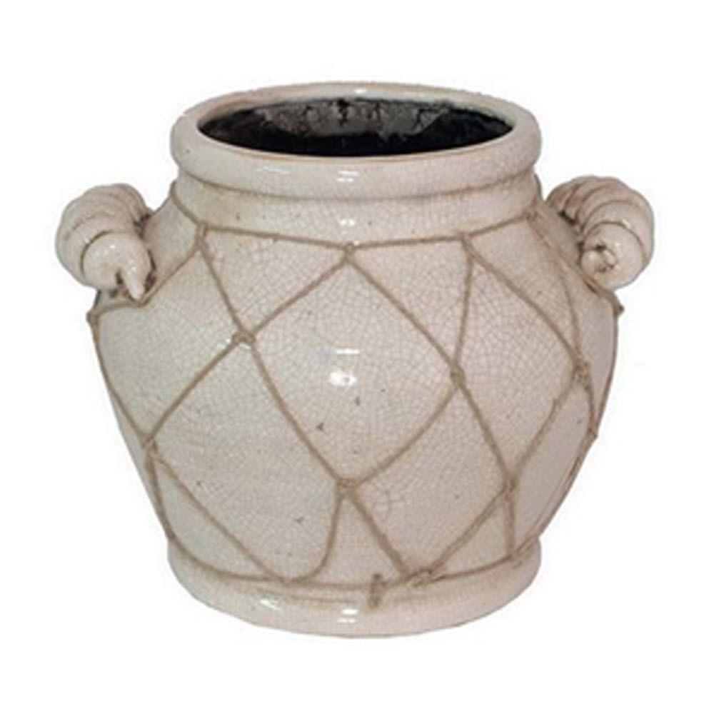 Home Decorators Collection Ravenna Small Beige Vase