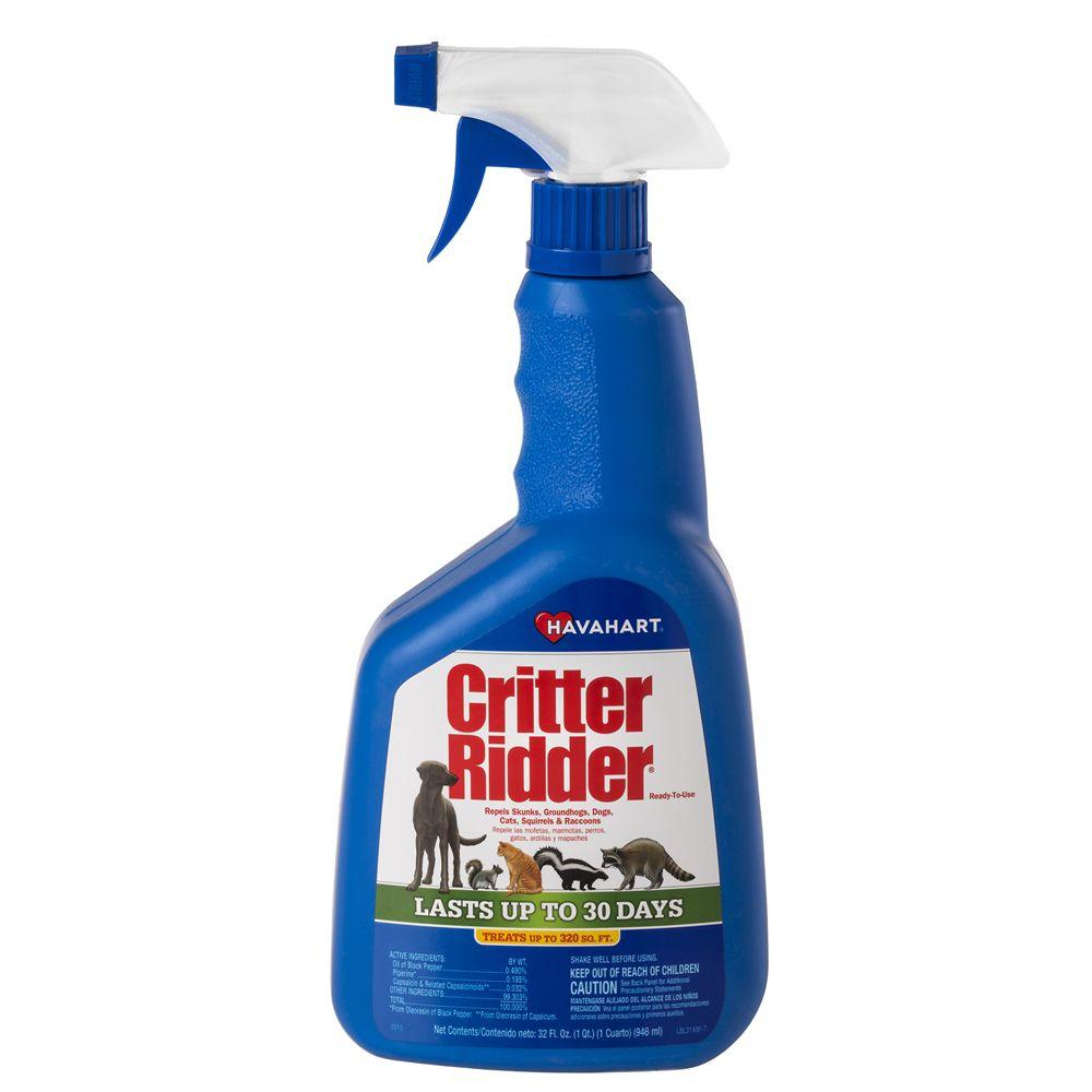 Critter Ridder II 32 oz. Ready-to-Use Animal Repellent
