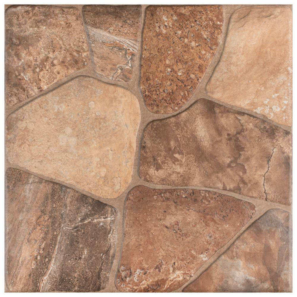 Reviews For Merola Tile Lyon Caliza 17 3 4 In X 17 3 4 In Ceramic Floor And Wall Tile 18 Sq Ft Case Faz18lyc The Home Depot
