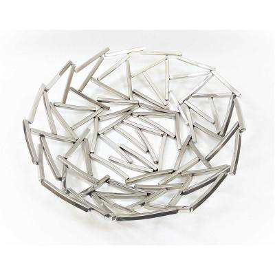 15 in. Dia Positano Round Platter Serving Tray